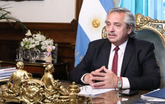 PESIMO INFORME HACIA LA ARGENTINA