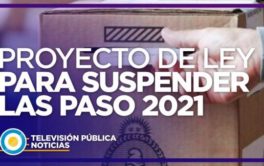 """FERNANDEZ: SUSPENDE LAS """"PASO"""""""